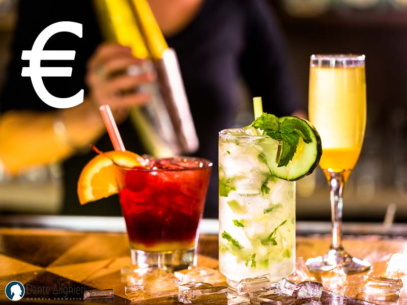 Come calcolare il costo di un drink